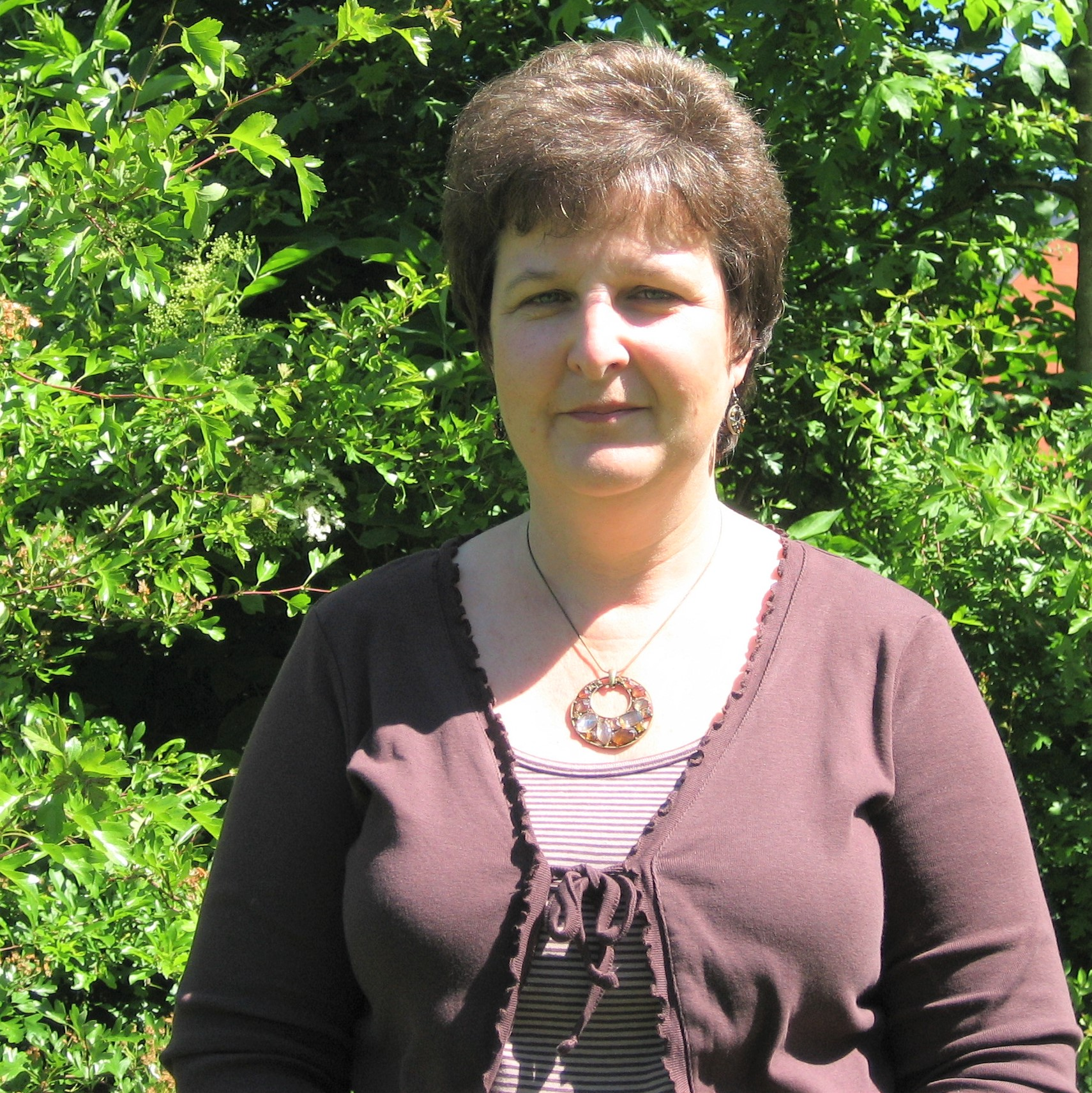Jackie Vaughan, office manager, Blackdown Hills AONB