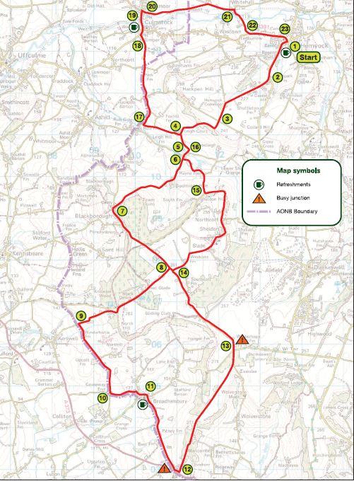 Cycling Archives - Blackdown Hills AONB