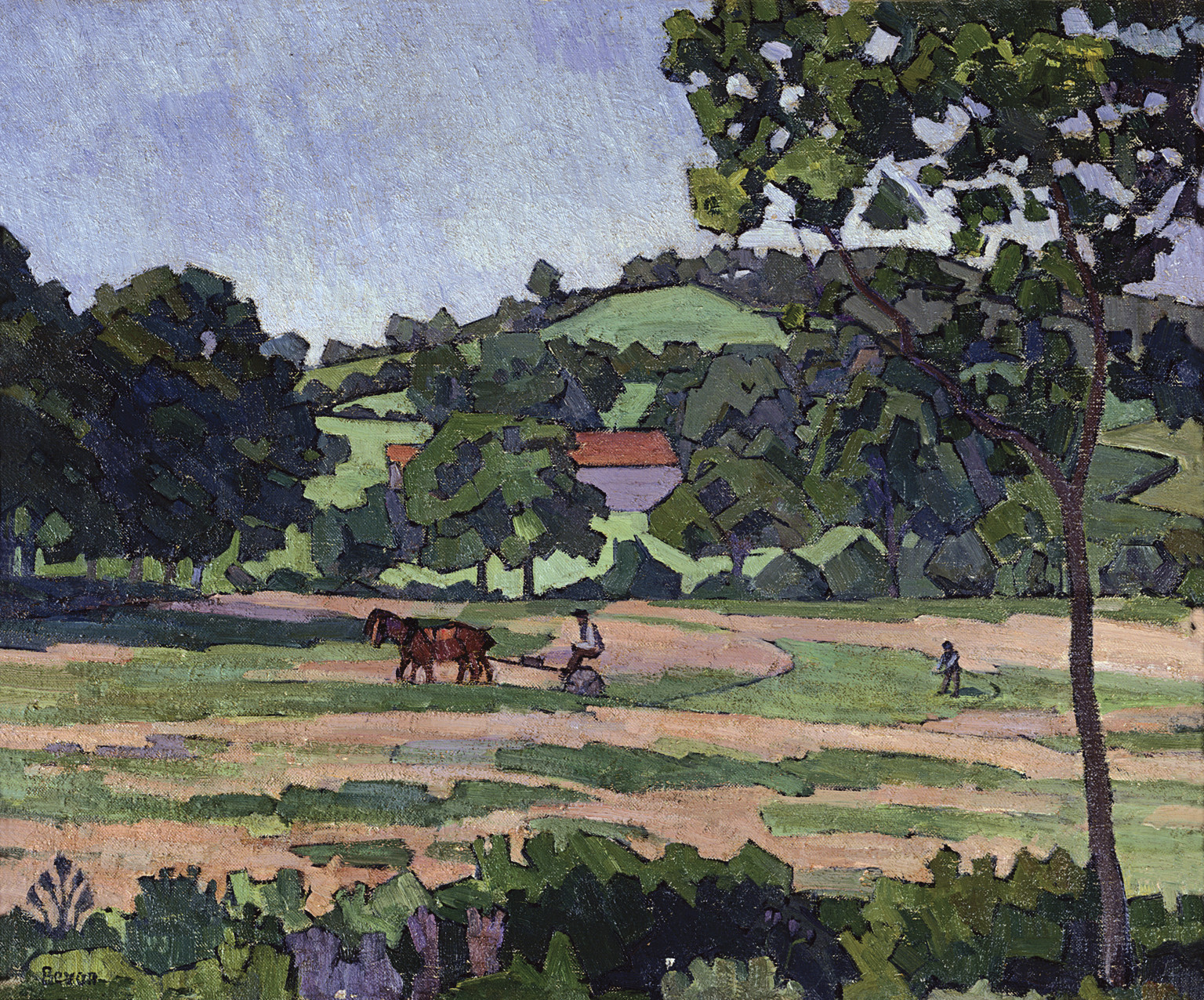 Robert Bevan, Hay Harvest