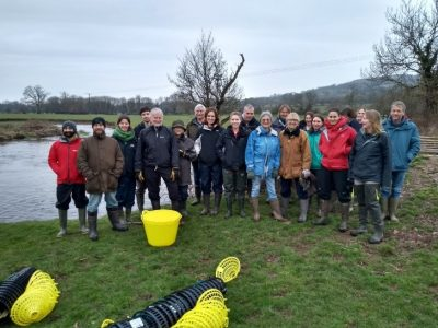 Culm Community Crayfish project volunteers