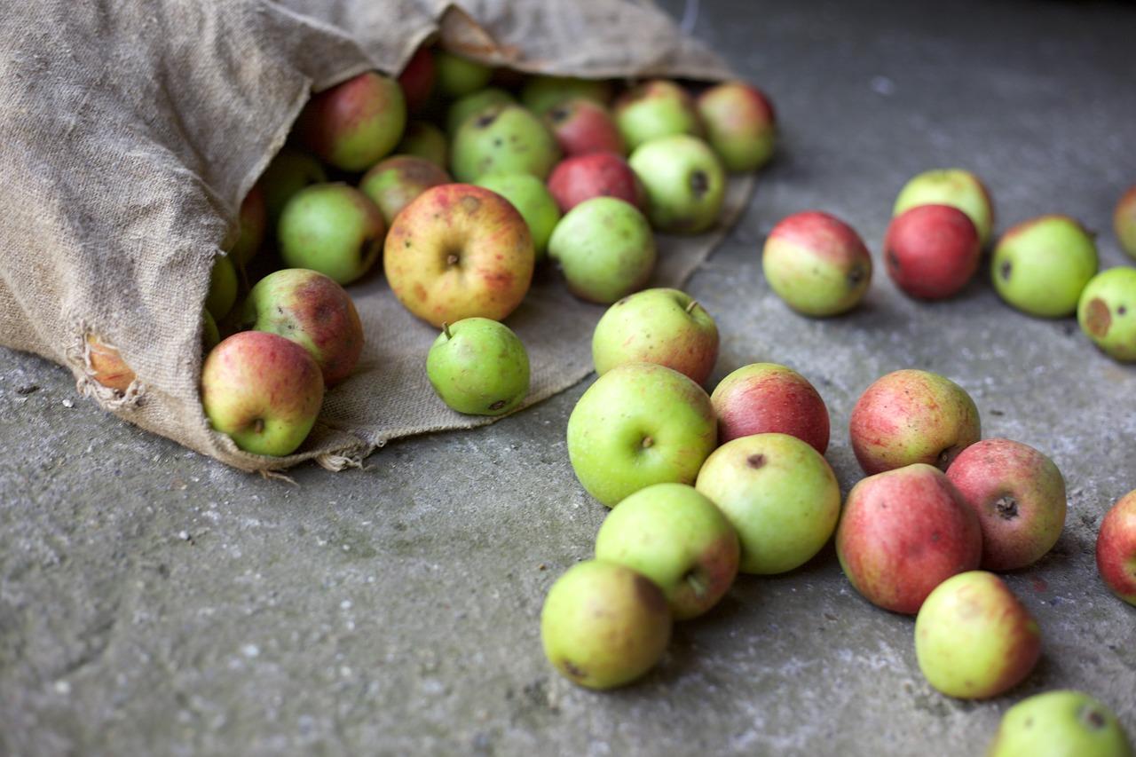 A bag of apples. Photo: Pixabay