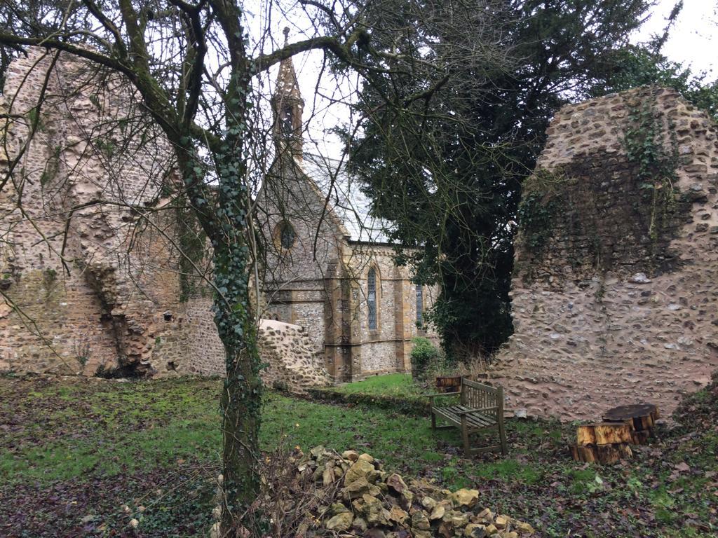 Dunkeswell Abbey ruins