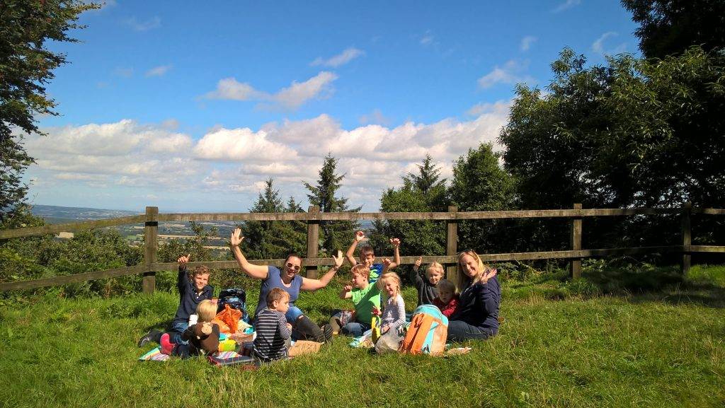 Picnic at Castle Neroche