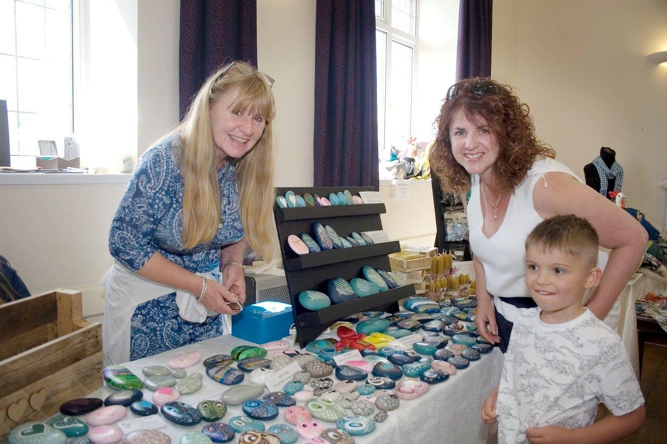 Stall at Blackdown Hills Food and Craft Fayre