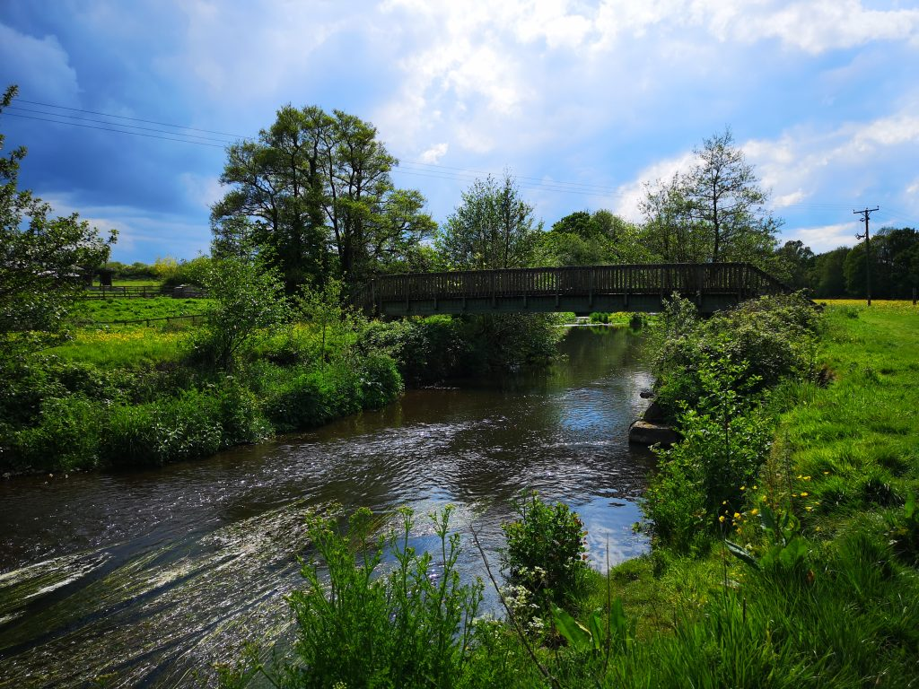 River Culm at Culmstock. Photo: Clare Groom