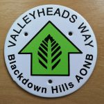 Valleyheads Way Blackdown Hills AONB
