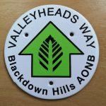 Valleyheads Way Blackdown Hills AONB
