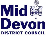 Mid Devon District Council with castle emblem