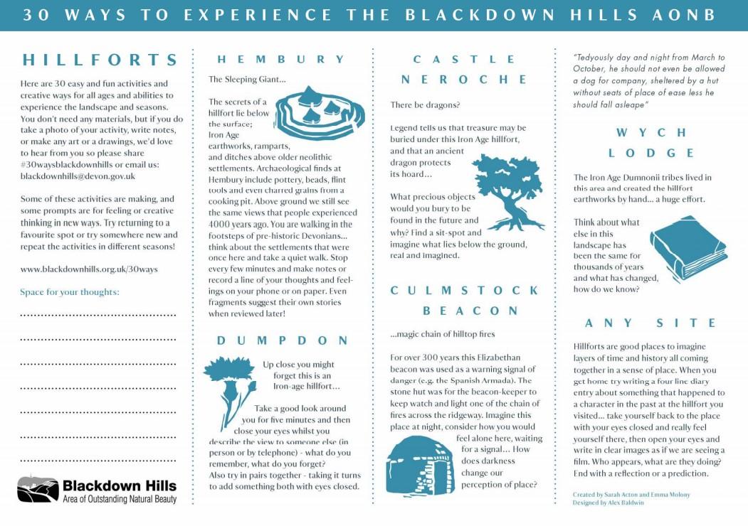 Thumbnail - Hillforts activity sheet